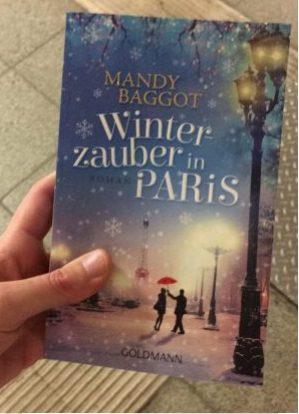 Paris Winter Roman Mandy Bagott Rezension Buch Bücherliebe